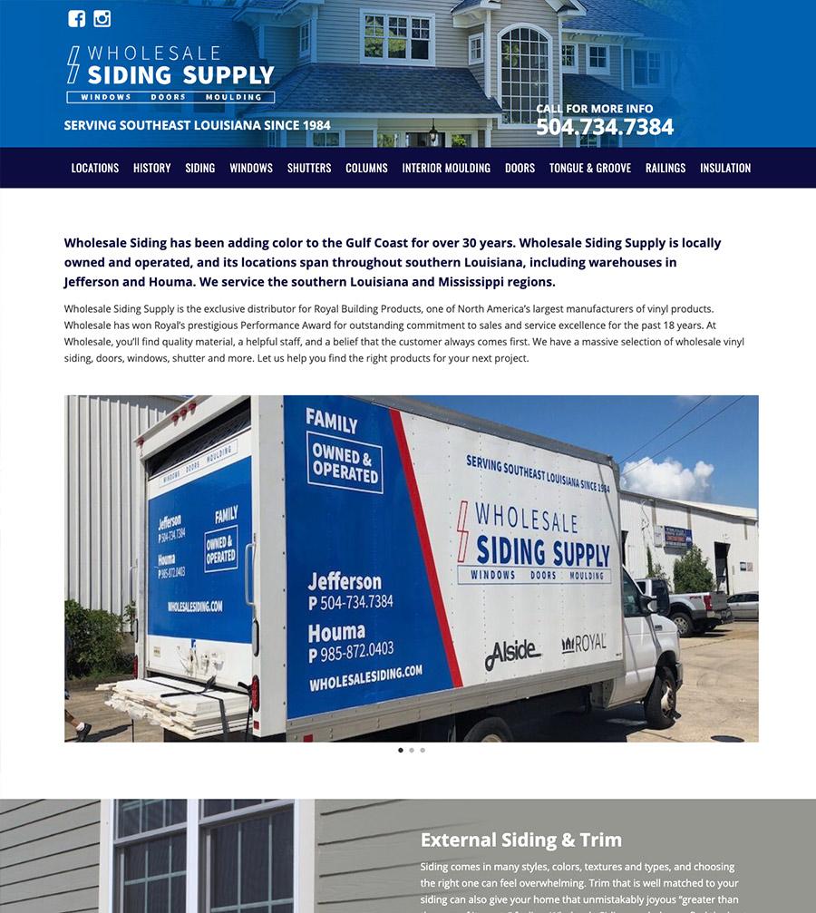 website layout screenshot 1